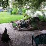Patio and back yard Landscaping